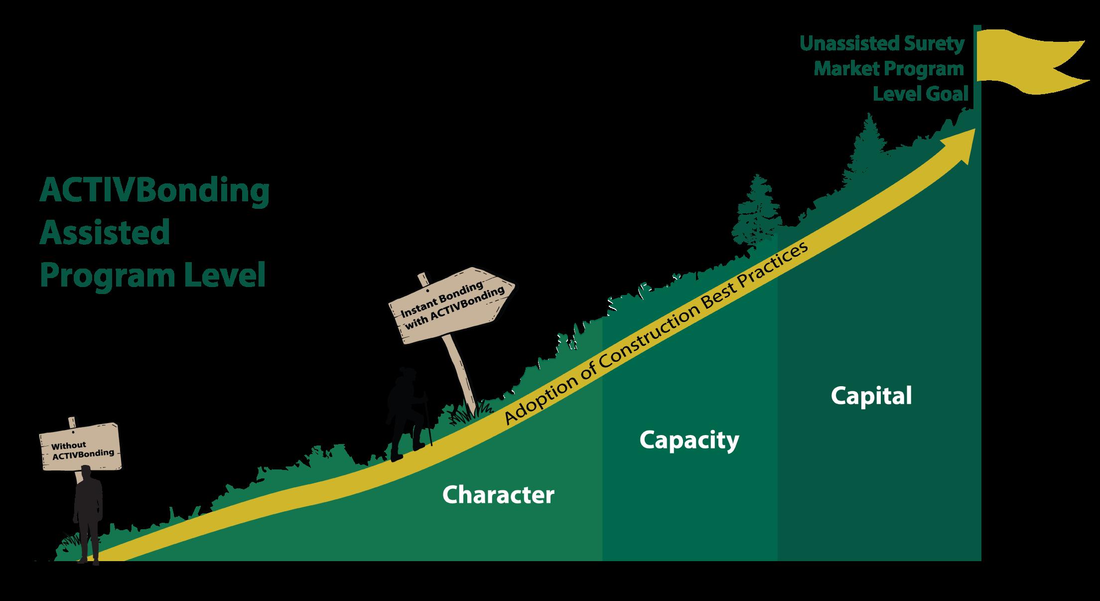 activbonding assisted program level model